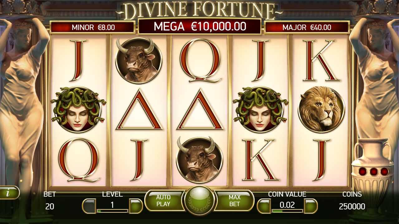 Divine Fortune – Et guddommeligt casinospil med gratis spins