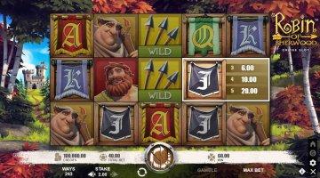 Spilleautomat online: Ram plet med Robin of Sherwood