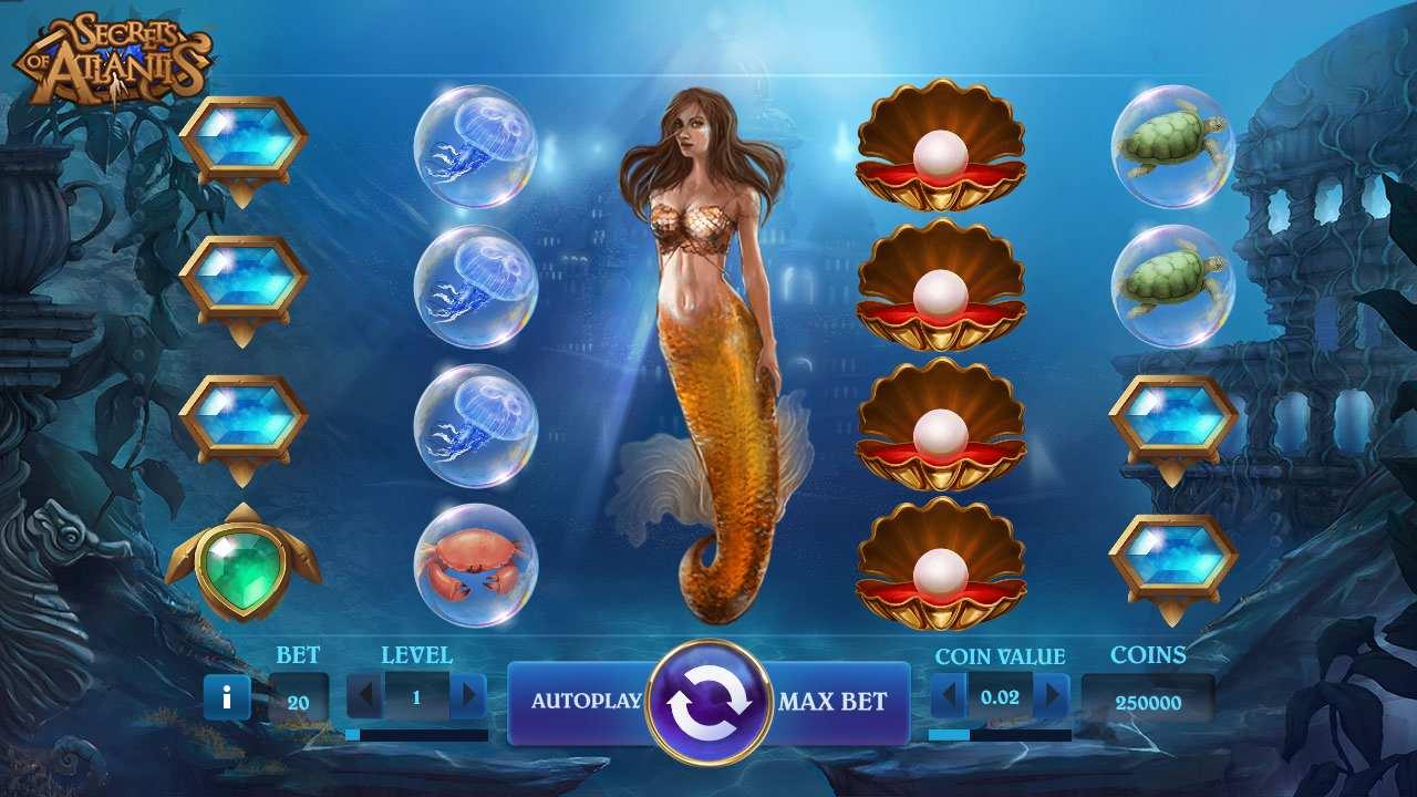Secret of Atlantis – En udødelig spilleautomat