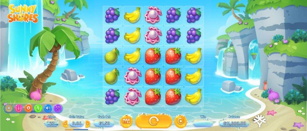 De 3 bedste spilleautomater med strand, sand og surf