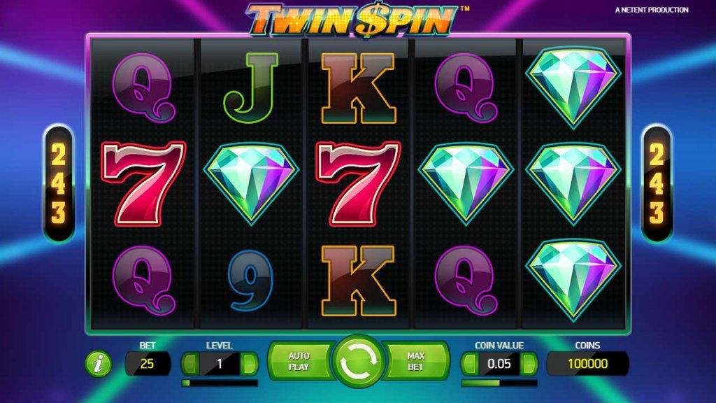 Twin Spin. Vind den store gevinst på spilleautomat online