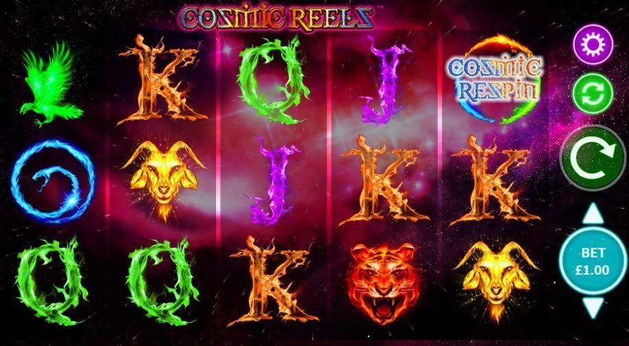 Cosmic Reels - En slotautomat med funklende kosmiske gevinster