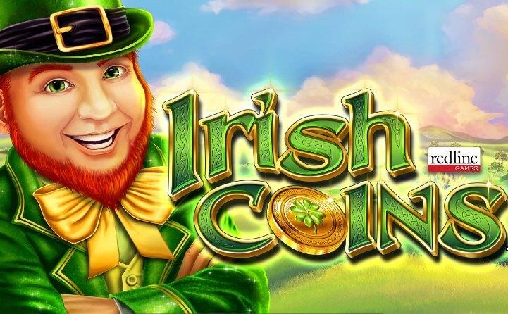 Land op til 120 gratis spins i Irish Coins slotautomaten