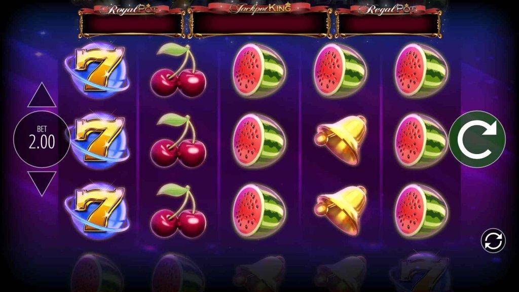 Vind din indsats 10.000 gange tilbage på spilleautomaten Star Spinner